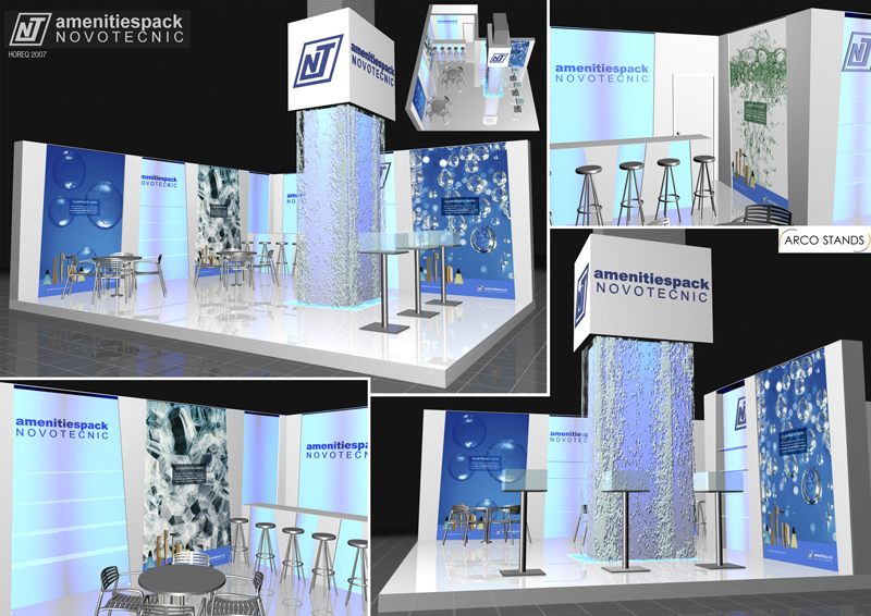 Booths Design | Booths Building | 3d Computer Graphics